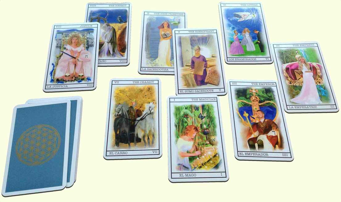 Your numerology in Tarot