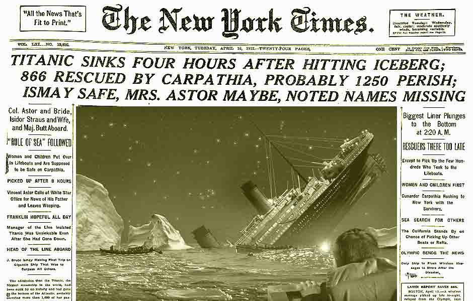 Titanic premonition